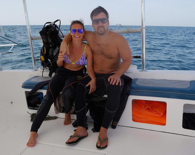 Potápění v Ománu