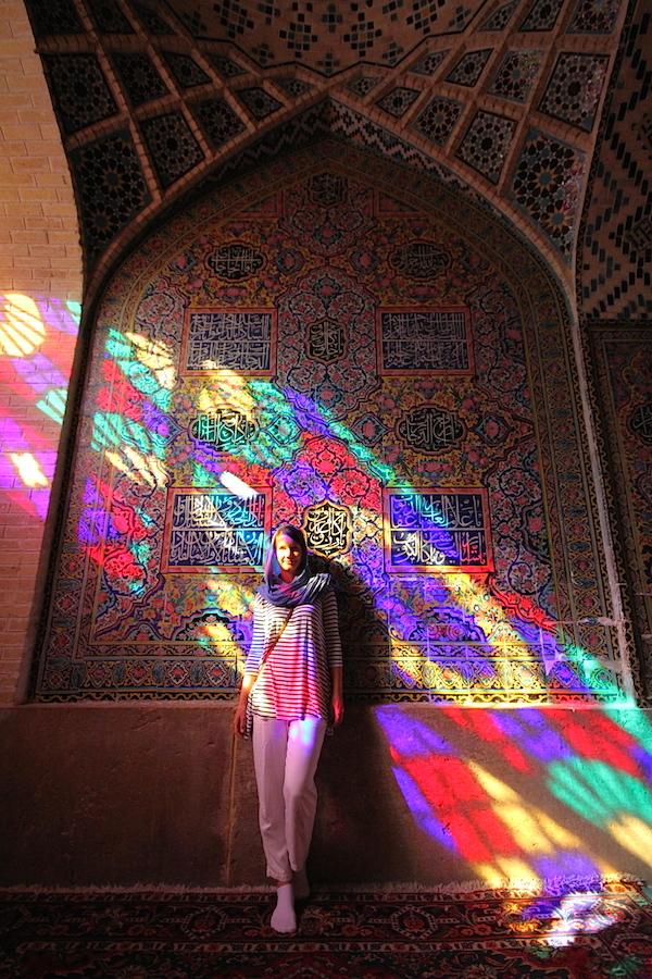 Irán a město květin a slavíků