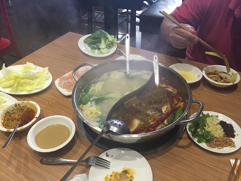 Čínský Hotpot v Deiře
