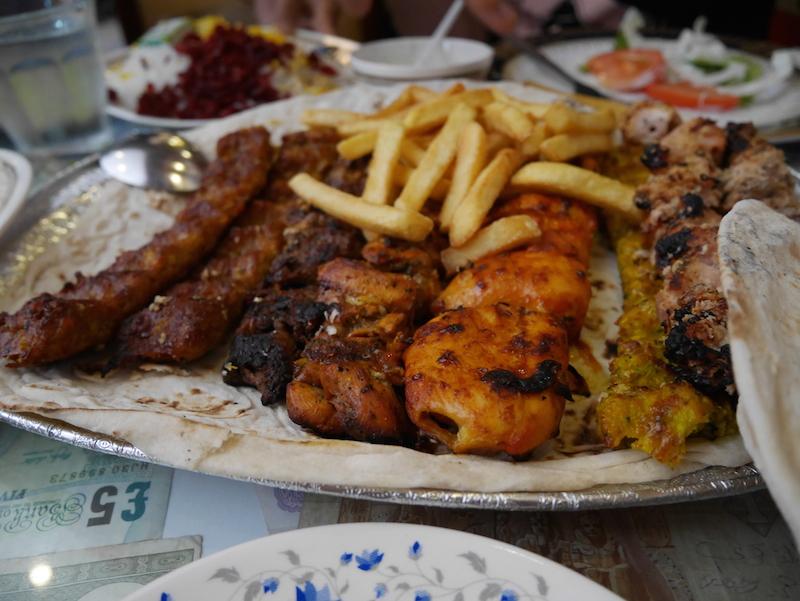 Special Ostadi – Íránská Restaurace v Bur Dubai