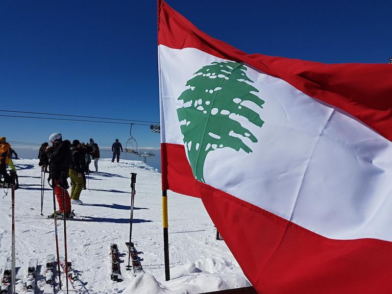 Lyžování v Libanonu