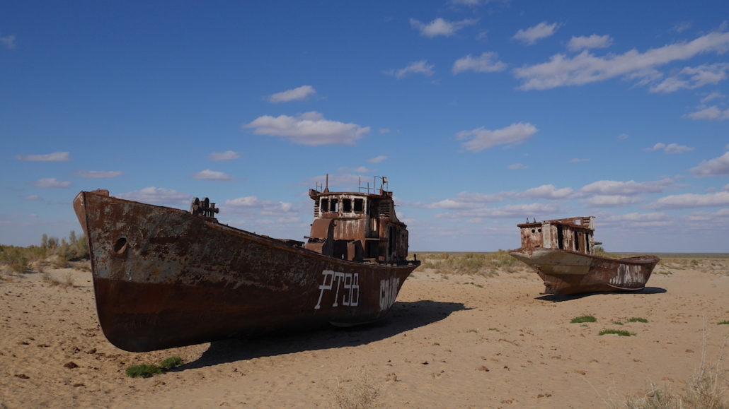 Honba za Aralským mořem – Uzbekistán